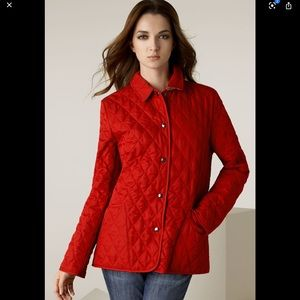 ❤️Burberry Brit Quilted Snap Jacket❤️